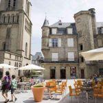 Gites Frankrijk Brive terras