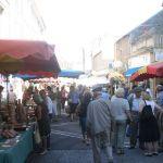 Gîtes Arc en France - visiting markets - Limousin - Haute-Vienne
